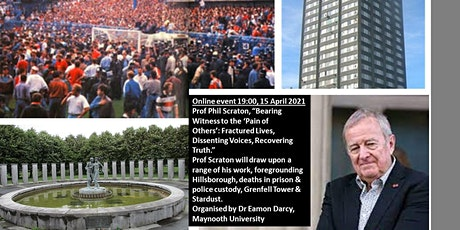 Bearing Witness to the 'Pain of Others' a talk by Prof Phil Scraton tickets
