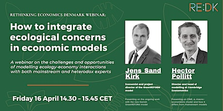How to integrate ecological concerns in economic models: tickets