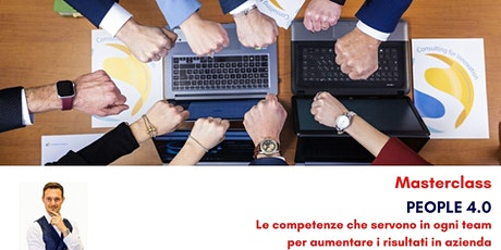 PEOPLE 4.0 Le competenze che servono in ogni team per aumentare i risultati tickets