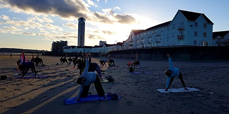 Beach Yoga Swansea Bay tickets
