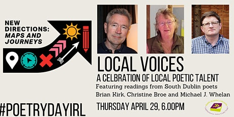 Poetry Day Ireland @ South Dublin Libraries: Local Voices tickets