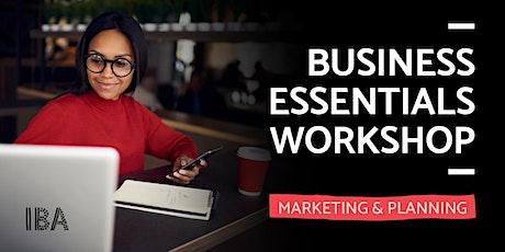 Business Essentials: Marketing & Planning tickets