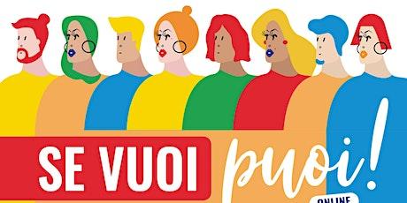 Progetti di solidarietà - Opportunità per giovani biglietti