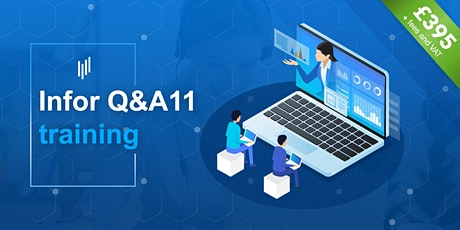 Infor Q&A11 training — Learn to build reports in Q&A using SunSystems data tickets