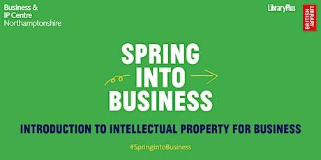 Introduction to Intellectual Property for Business tickets