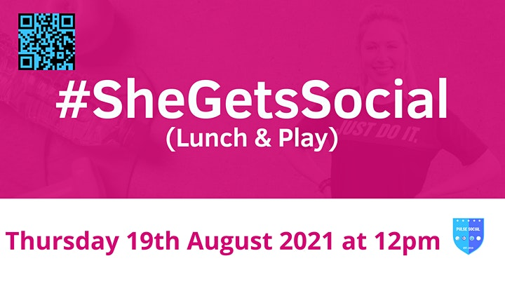 She Gets Social (Lunch & Play) in partnership with Virgin Money image
