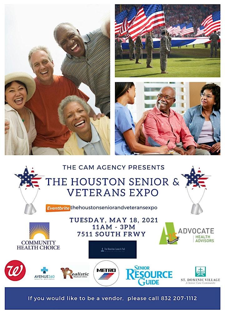 The Houston Senior and Veterans Expo image