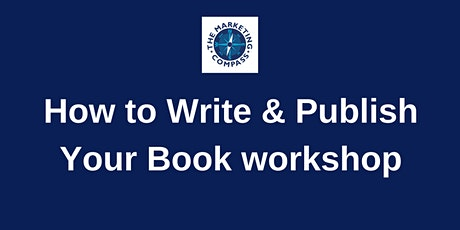 How To Write and Publish Your Book -workshop tickets
