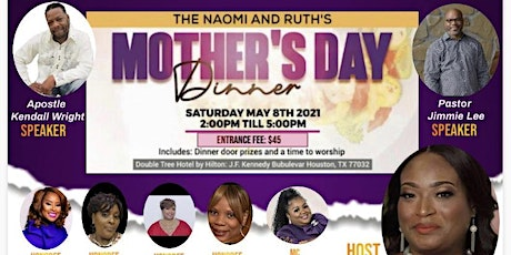 Naomi & Ruth Mother's Day Dinner tickets