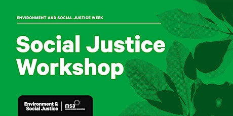 How to Social Justice Workshop tickets