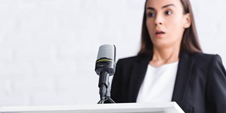 How to overcome your fear of speaking up! tickets