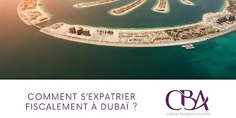 Comment s'expatrier fiscalement à Dubaï ? biglietti