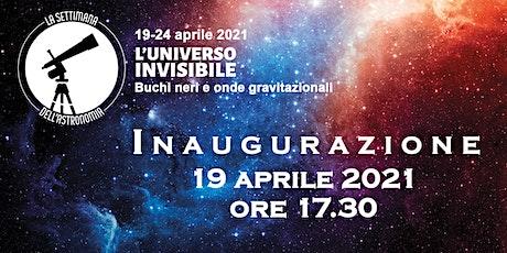 La Settimana dell'Astronomia - Inaugurazione biglietti