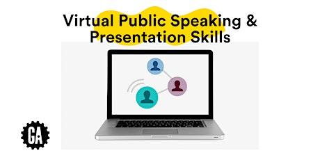 Virtual Public Speaking & Presentation Skills tickets