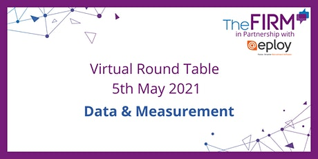 Virtual Round Table -  Data & Measurement tickets