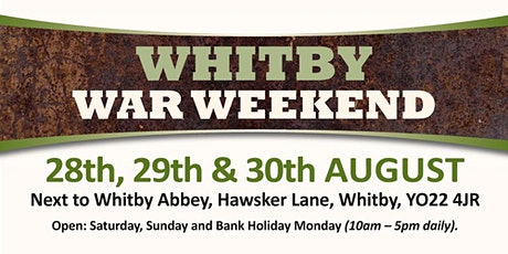Whitby War Weekend 2021 - Trading Space tickets