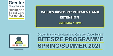 Values based recruitment and retention tickets