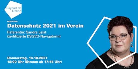 Datenschutz 2021 im Verein Tickets