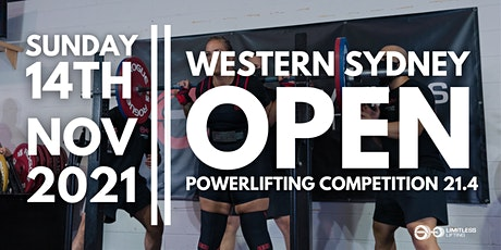 Western Sydney Open Powerlifting Competition 21.4 tickets