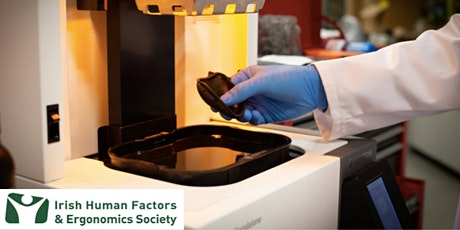 IHFES LunchNLearn 3D printing for Ergonomics product design tickets