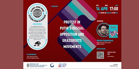 Protest in Putin's Russia: opposition and grassroots movements tickets