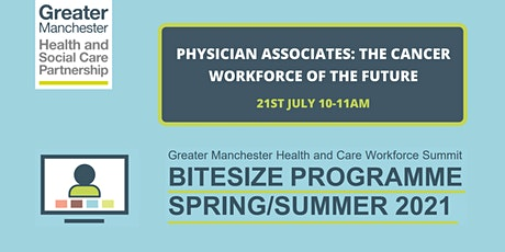 Physician Associates: The Cancer Workforce of the Future tickets