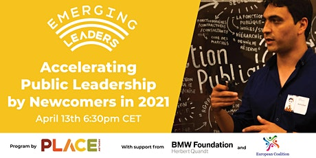 Accelerating Public Leadership by Newcomers in 2021 Event tickets