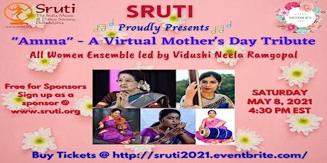 "Mother's Day Weekend - Carnatic Music Concert - ""Amma"" - Neela Ramgopal tickets"