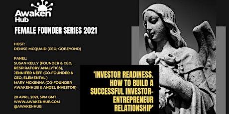 AwakenHub - Building a Successful Investor-Entrepreneur Relationship tickets