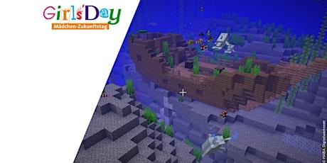 *AUSGEBUCHT* Special zum Girls Day: Minecraft - Unterwasserwelt Tickets