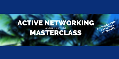 Active Networking Masterclass tickets