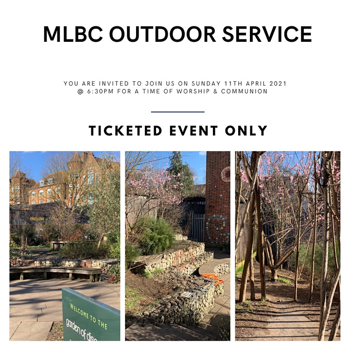 MLBC OUTDOOR WORSHIP & COMMUNION image