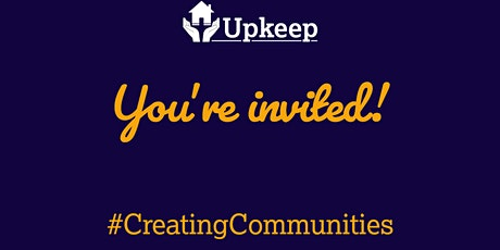 Upkeep Training's Creating Communities Virtual Networking Event tickets