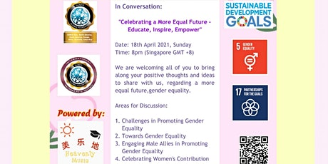 In Conversation:Celebrating a More Equal Future - Educate, Inspire, Empower tickets