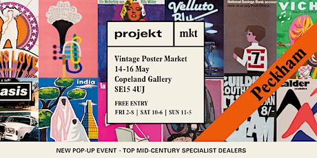 Projekt Mkt | Vintage Poster Market tickets