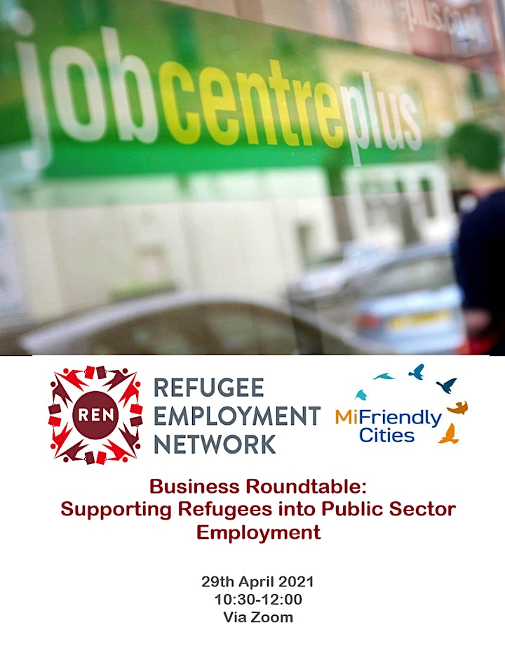 REN - Roundtable Discussion on Public Sector  Refugee Employment image