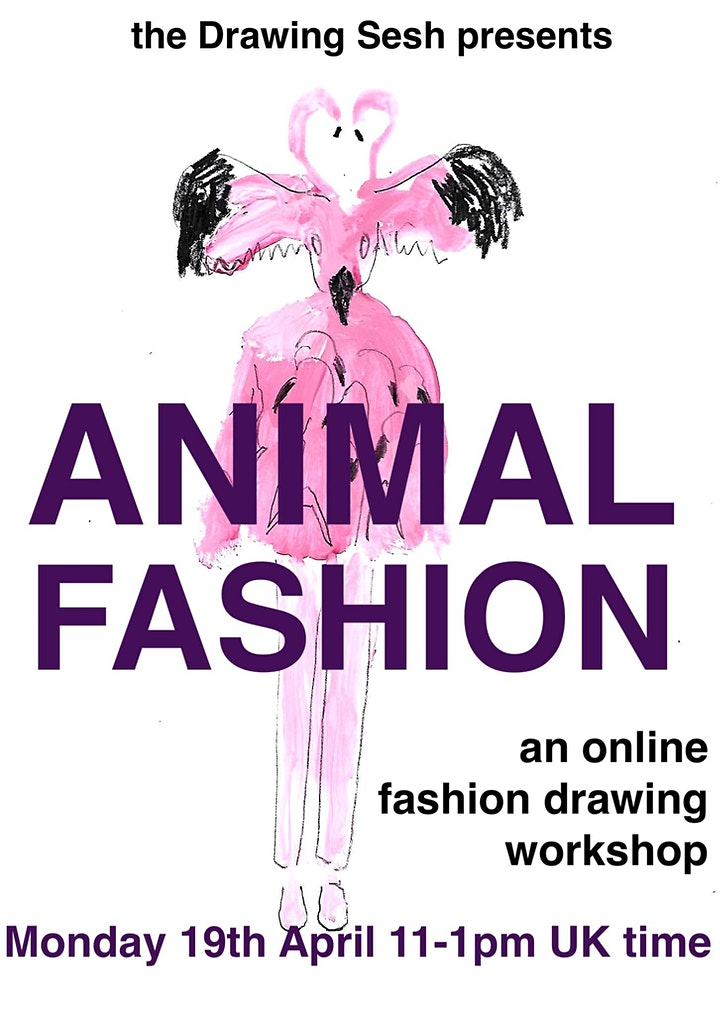 ANIMAL FASHION  - A FASHION DRAWING WORKSHOP image