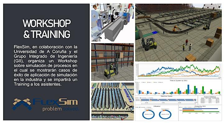 Imagen de FlexSim Workshop y Training en la Universidad de A Coruña