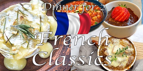 Dinner for Two; French Classics  - Cook-Along w/ Chef Kit #LPaGFoodieFriday tickets