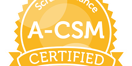 Advanced Certified ScrumMaster | A-CSM | ScrumAlliance |Kleingruppe|deutsch tickets