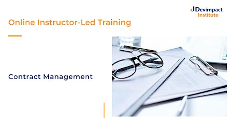 Training on Contract Management tickets