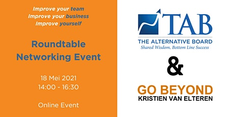 TAB x Go Beyond - Roundtable Networking Event tickets