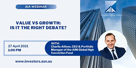 Value vs. Growth: Is it the right debate? tickets