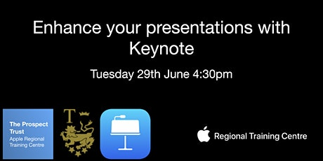 Enhance your presentations with Keynote tickets