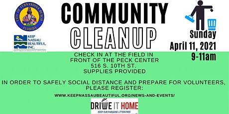 Community Cleanup with City of Fernandina Beach tickets
