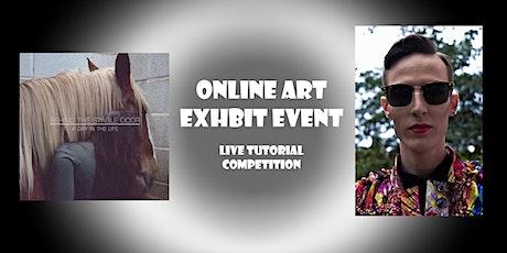 Online Art Exhibit event and more biglietti