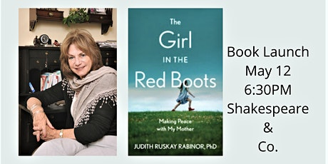Book Launch: THE GIRL IN THE RED BOOTS by Judith Ruskay Rabinor tickets