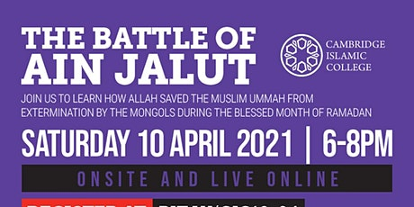 The Battle of Ain Jalut tickets