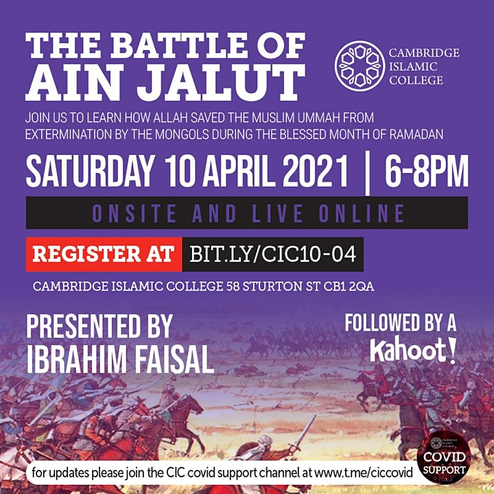 The Battle of Ain Jalut image