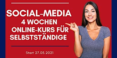 Let's Rock Social Media 4 Wochen Online Kurs für Selbstständige Tickets